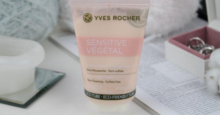 Yves Rocher Sensitive Vegetal Cleansing Cream Крем для умывания
