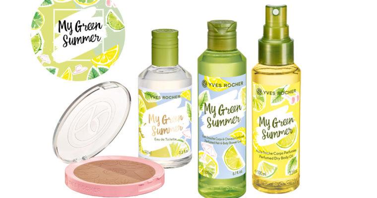 Летняя коллекция Yves Rocher My Green Summer