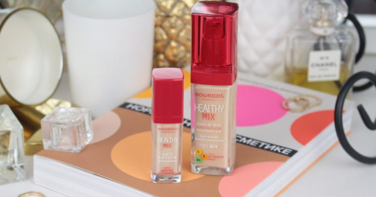 Bourjois Healthy Mix Foundation «51 Light Vanilla» & Concealer «51 Light» Тональная основа и консилер