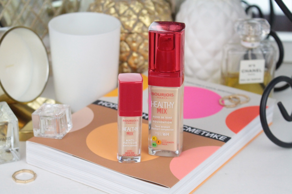 "Bourjois Healthy Mix Foundation ""51 Light Vanilla"" & Concealer ""51 Light"" Тональная основа и консилер"