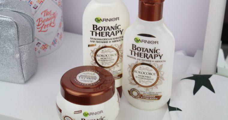 Garnier Botanic Therapy Линейка для волос «Кокосовое молочко и макадамия»