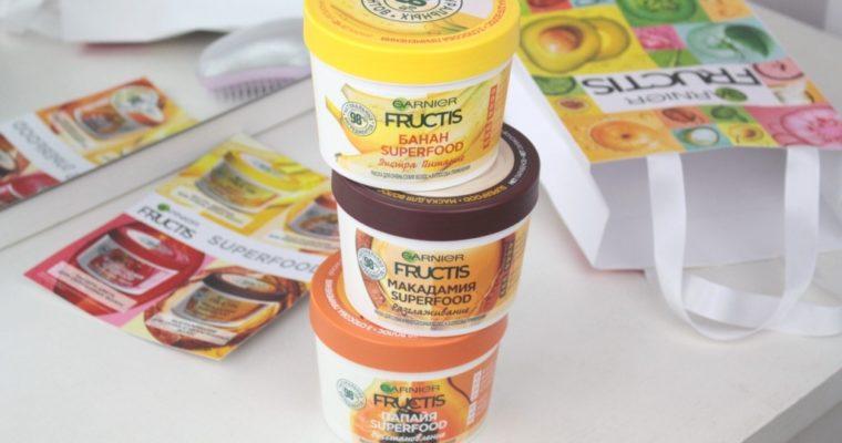 Garnier Fructis Superfood Маски для волос