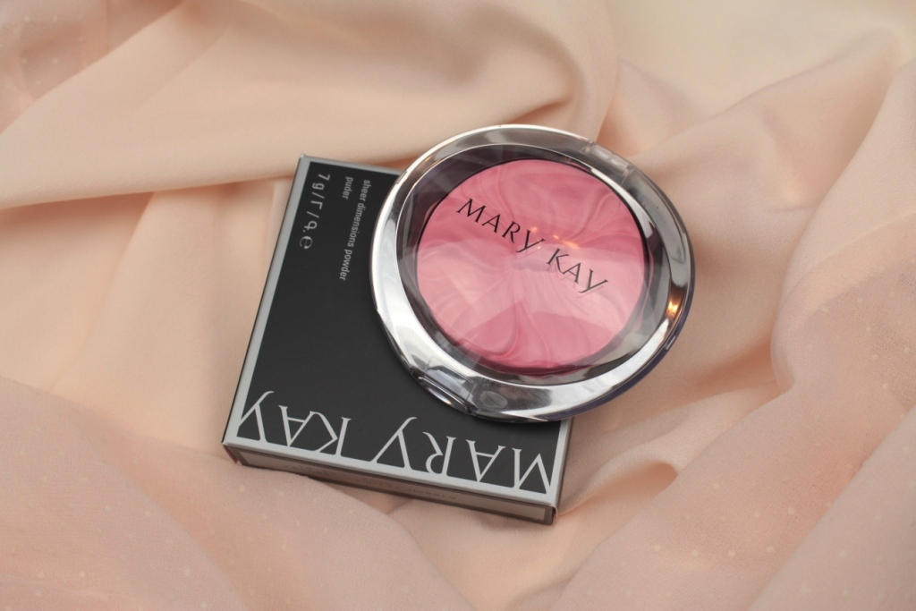 Mary Kay Sheer Dimensions Powder Ribbon (Pink) Пудра для лица