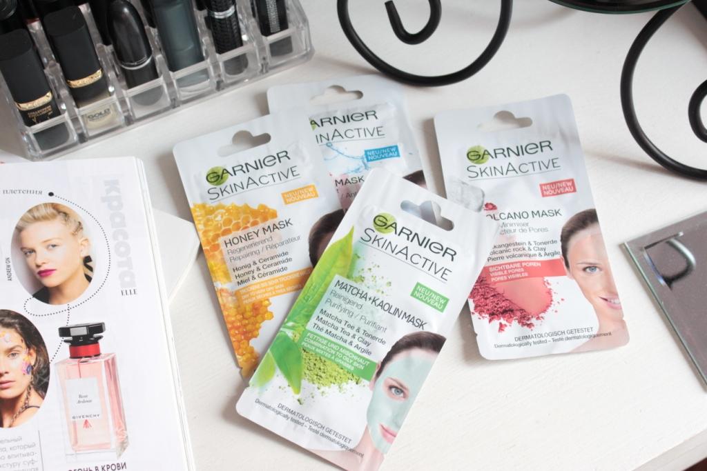 Garnier Skin Active Маски для лица