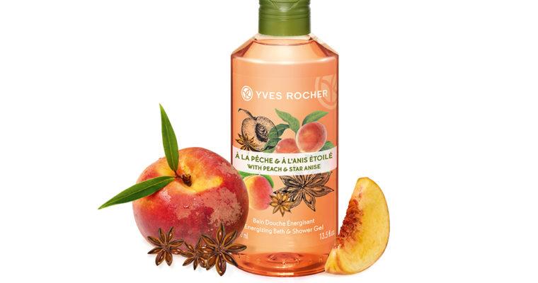 Новинка Yves Rocher — Гель для Ванны и Душа «Персик — Анис»