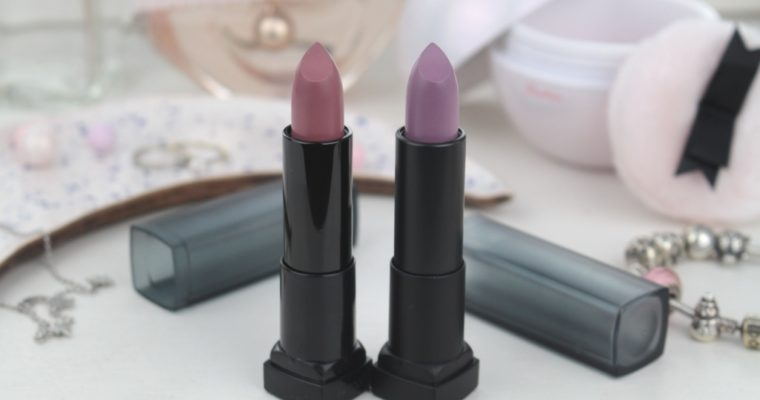 "Maybelline Color Sensational Powder Matte Lipstick ""15 Smoky Taupe"" и ""25 Chilling Grey"" Матовые помады"