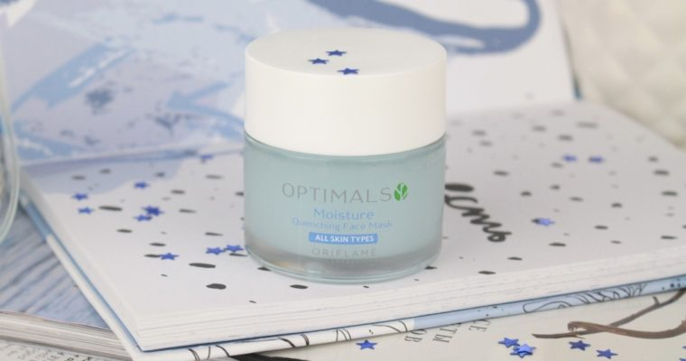 Oriflame Optimals Moisture Quenching Face Mask Увлажняющая маска для лица