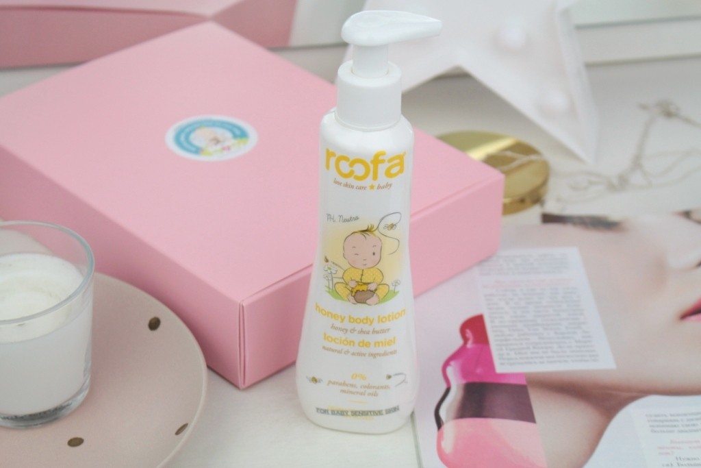 Roofa Spain Honey Body Lotion Лосьон для тела с медом