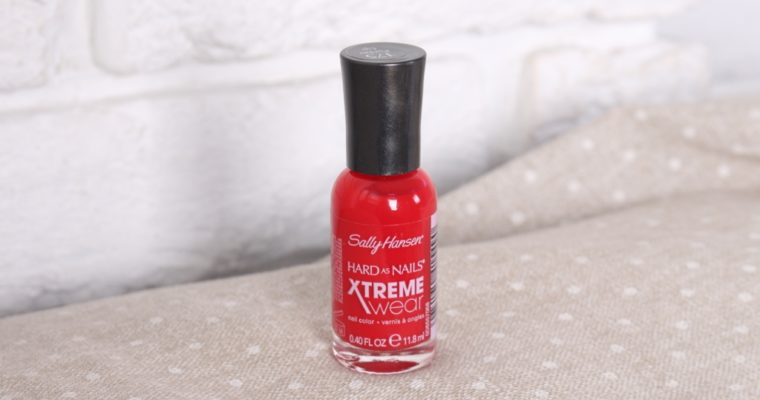 Sally Hansen Hard As Nails XtremeWear «175 Pucker Up» Лак для ногтей