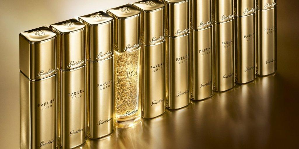 Осенняя коллекция Guerlain Parure Gold Makeup Collection Fall 2019