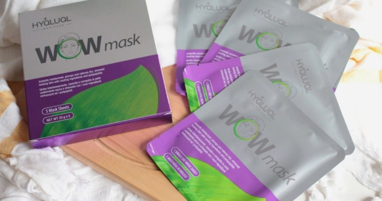 Hyalual WOW Mask Гидрогелевые маски для лица