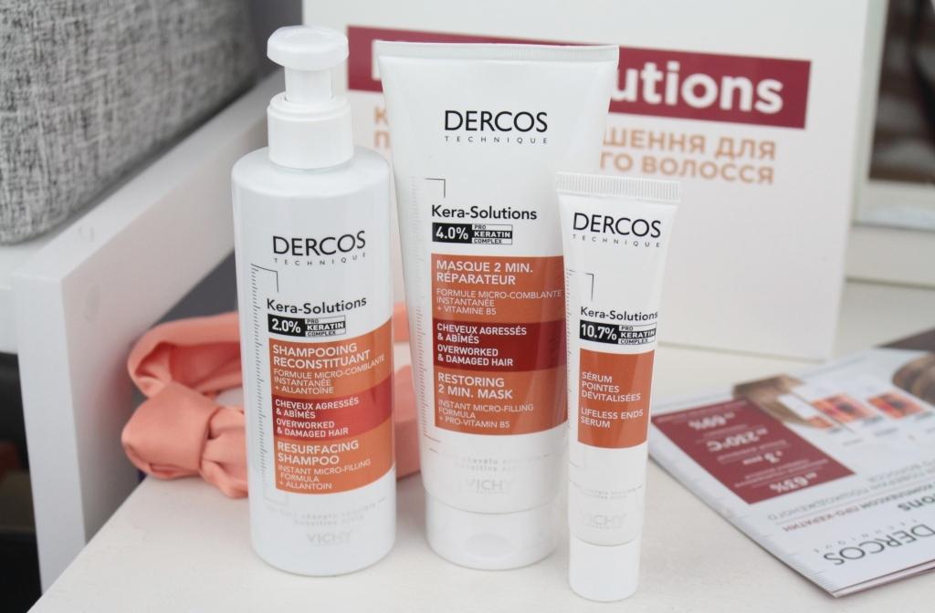 Новая линейка для волос Vichy Dercos Kera-Solutions