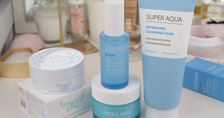 Базовые увлажняющие средства от корейских брендов: Missha, A'pieu, IYOUB