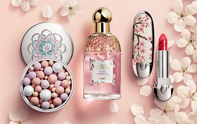 Guerlain Cherry Blossom Makeup Collection Spring 2020
