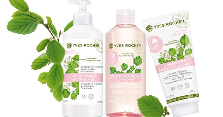 Новые средства Yves Rocher для чувствительной кожи тела