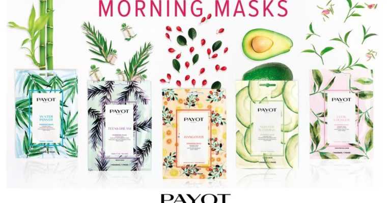 Payot Morning Mask Новая линейка масок для лица