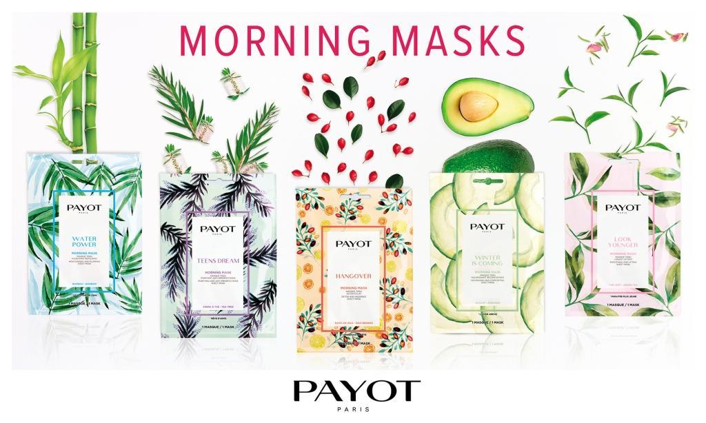 Payot Morning Mask Новая линейка масок для лица