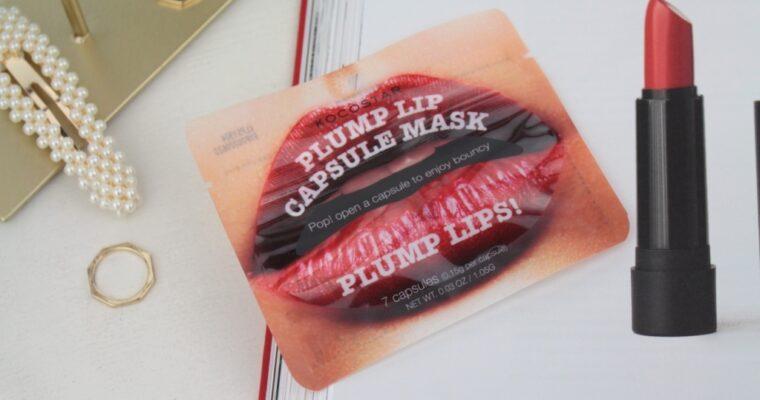 Kocostar Plump Lip Capsule Mask Капсульная-сыворотка для увеличения объема губ