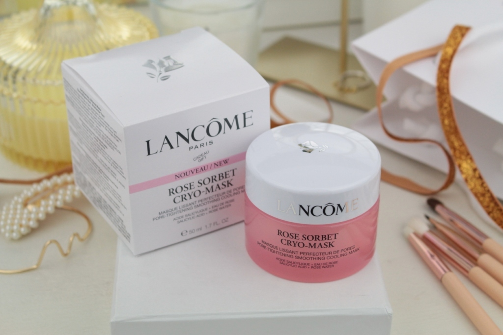Lancome Rose Sorbet Cryo-Mask Pore-Tightening Smoothing Cooling Mask Крио-маска для лица
