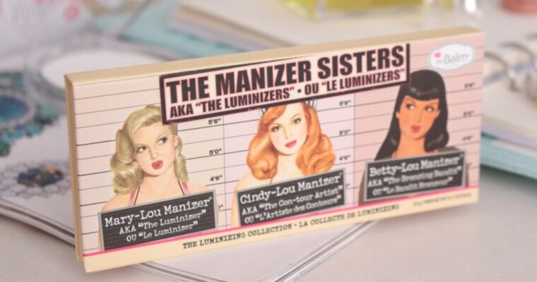 The Balm The Manizer Sisters Палетка хайлайтеров