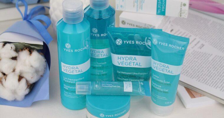 Yves Rocher Линейка Hydra Vegetal