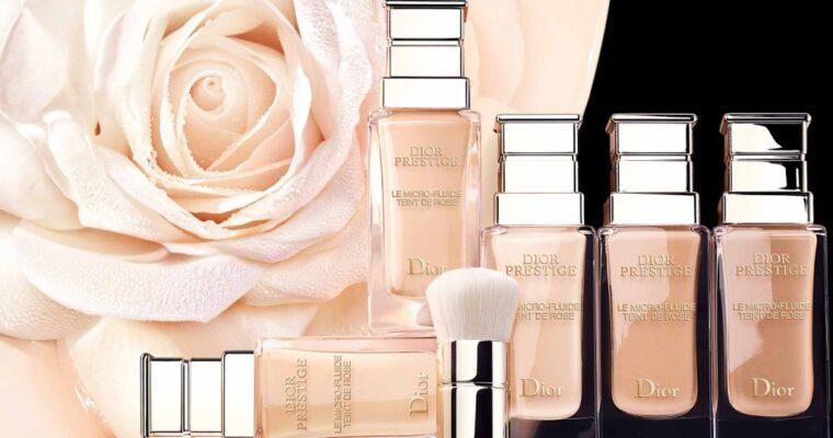 Dior Prestige Micro-Fluide Teint de Rose Foundation Новая Тональная Основа