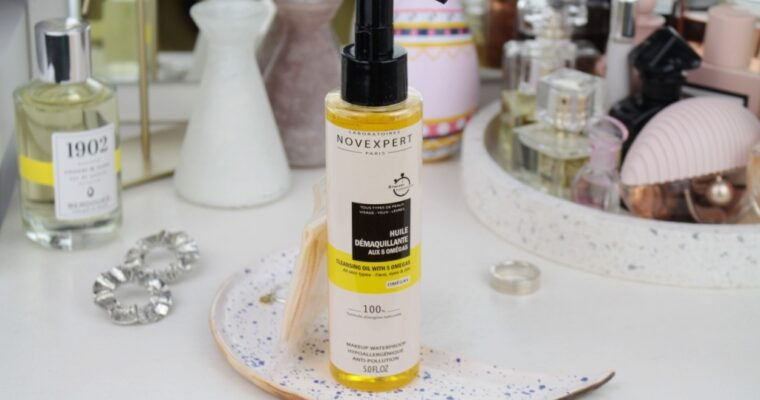 Novexpert Cleansing Oil With 5 Omegas Очищающее масло для лица