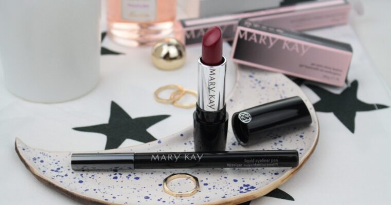 Mary Kay Liquid Eyeliner Pen Подводка и Gel Semi-Matte Lipstick Помада