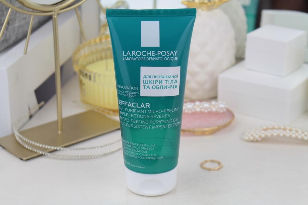 Новинка La Roche-Posay Effaclar Micro-Peeling Purifying Gel Гель-микропилинг для очищения проблемной кожи