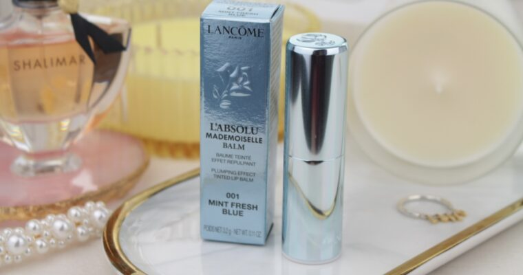 "Lancome L'absolu Mademoiselle Balm ""001 Mint Fresh Blue"" Бальзам для губ"