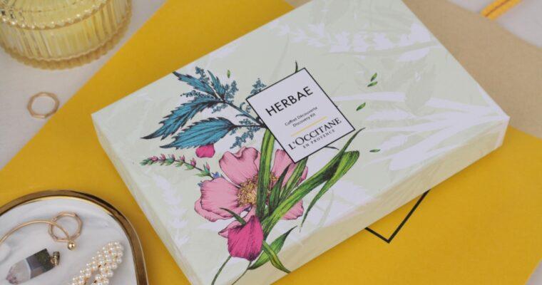 L'occitane Herbae Discovery Kit Парфюмированный набор