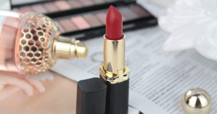 """L'oreal Color Riche Matte """"346 Scarlet Silhouette"""" Матовая помада"""