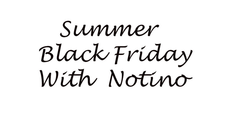 Summer Black Friday на Notino