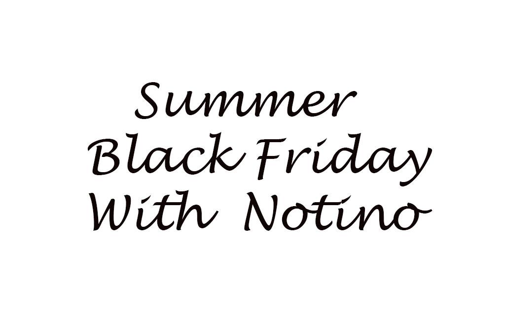 Summer Black Friday на Notino