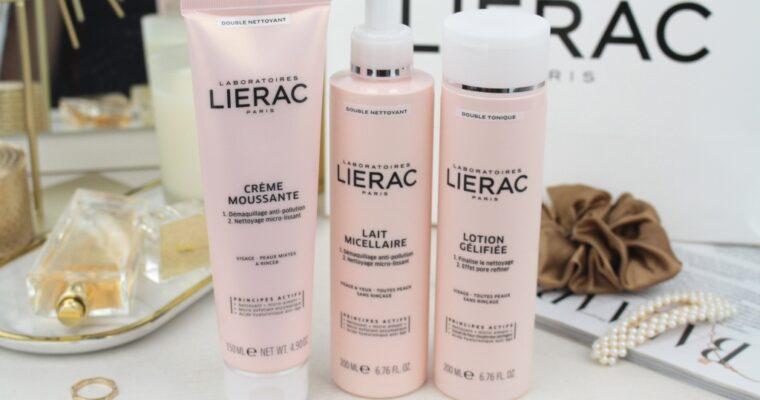 Очищение лица с косметикой Lierac