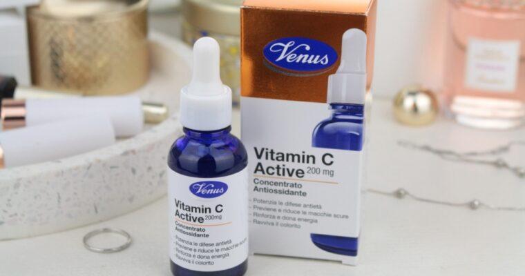 Venus Vitamin C Active Concentrato Antiossidante Концентрат-антиоксидант с витамином С