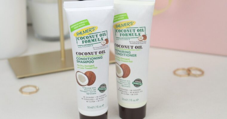 Palmer's Coconut Oil Shampoo & Conditioner Шампунь и Кондиционер