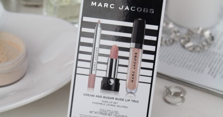 "Marc Jacobs ""Cream And Sugar"" Nude Lip Trio Набор для губ"
