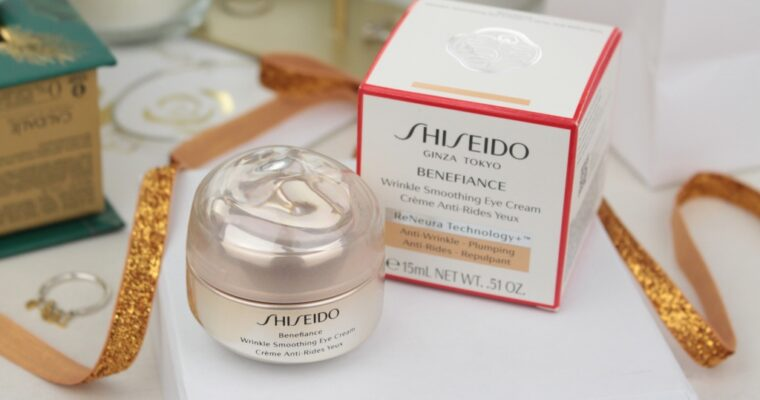 Shiseido Benefiance Wrinkle Smoothing Eye Cream Крем для кожи вокруг глаз