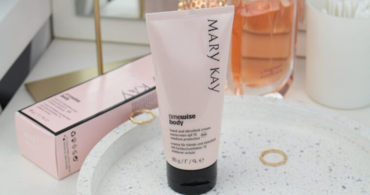 Mary Kay TimeWise Body Hand And Decollete Cream Sunscreen SPF15 Крем для рук и области декольте