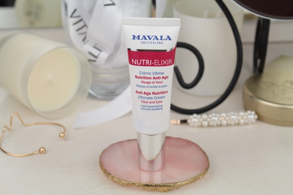 Mavala Nutri-Elixir Anti-Age Nutrition Ultimate Cream Face And Eyes Антивозрастной крем для лица и глаз