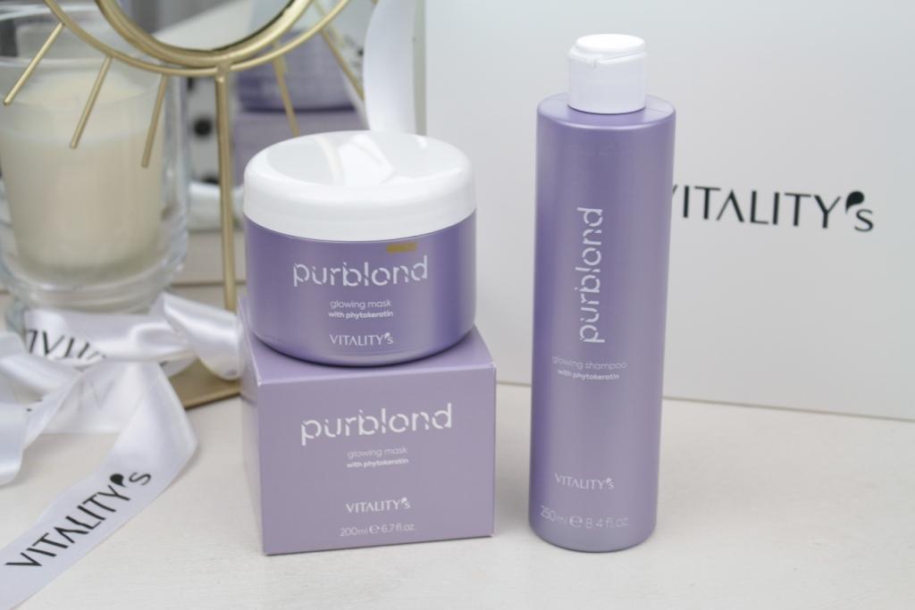 Vitality's Purblond Glowing Shampoo & Glowing Mask Уход для светлых волос