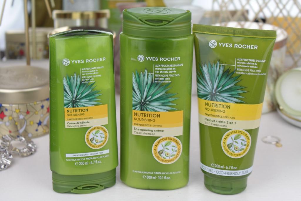 Питание волос с линейкой Yves Rocher Nutrition
