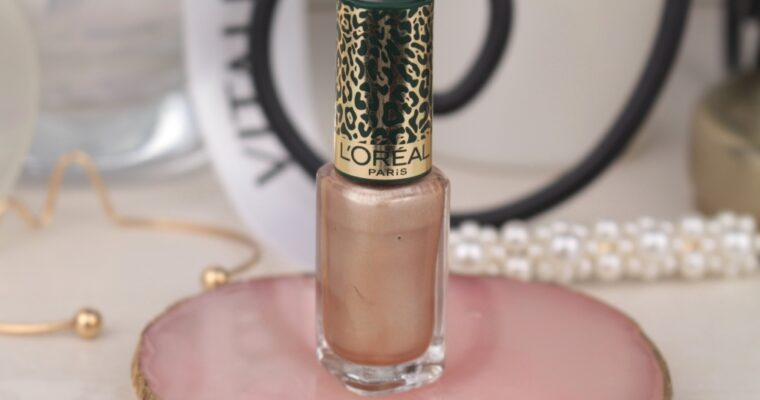 "L'oreal Color Riche Nail Polish ""Lor Jungle"" Лак для ногтей"