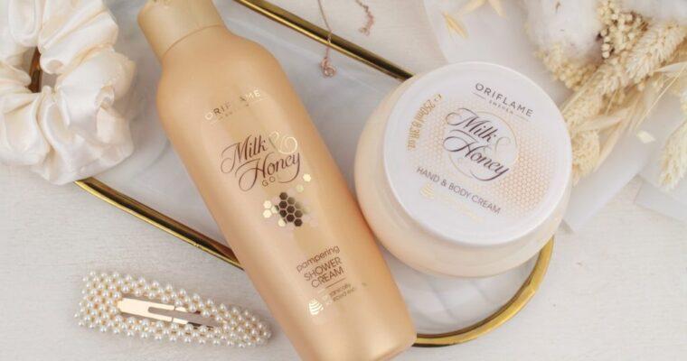 Oriflame Milk & Honey Gold Крем для душа и Крем для тела