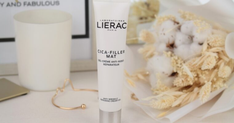 Lierac Cica-Filler Mat Anti-Wrinkle Repairing Cream-Gel Крем для лица