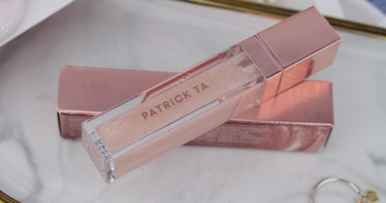 "Patrick Ta Major Glow Lip Shine ""She's Expensive/Pearl"" Блеск для губ"