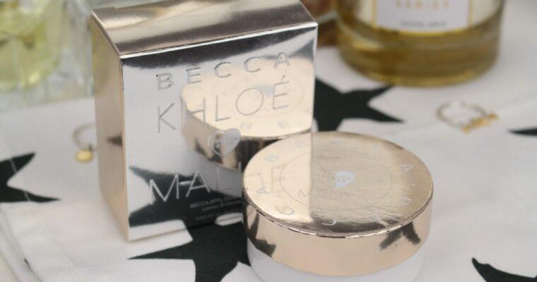 Becca Khloe & Malika Glow Letters Хайлайтер/Бронзер