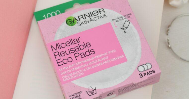 Garnier Skin Active Micellar Reusable Eco Pads Многоразовые диски для снятия макияжа