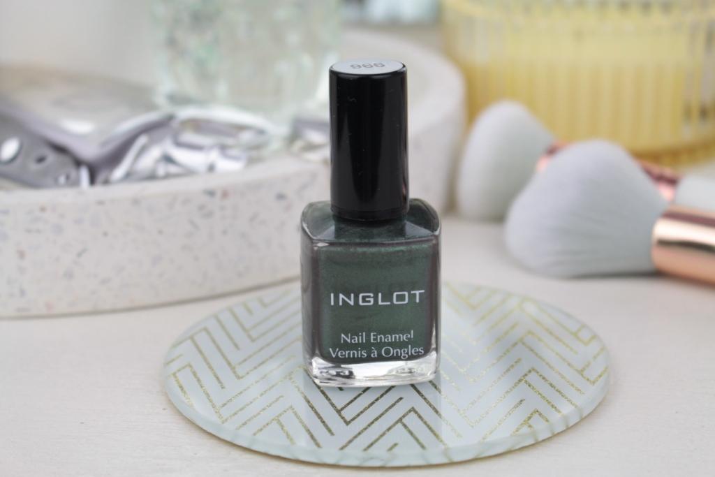 "Inglot Nail Enamel Vernis a Ongles ""966"" Лак для ногтей"